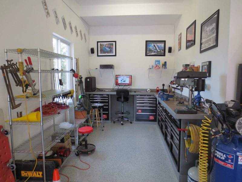 Teaser randy 39 s factory 5 roadster build site for How much to build a 1 car garage